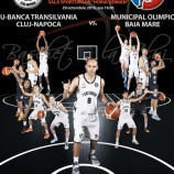29.10 Meci de baschet: U-Banca Transilvania – Municipal Olimpic Baia Mare