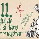 25-26.11 Festivalul de Muzică și Dans Popular Maghiar