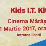 01.03 Eveniment pentru copii: Kids I.T. Kit