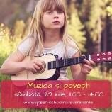 29.07 Muzică și povești pentru copii de 3-7 ani