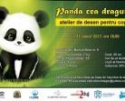 31.08 Atelier de desen pentru copii: Panda cea draguta