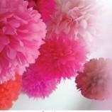 27.02 Atelier de creatie pentru copii: Pompoane din hartie creponata