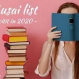 29.01 Seminar: Musai list – de citit în 2020