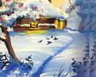 16.01 Atelier de pictura pentru copii: Poveste de iarna