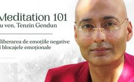 27.01 Curs: Meditation 101 cu Ven. Gendun