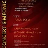 29.01 Concert simfonic: Tinere talente