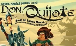 18.04 Eveniment pentru copii: Don Quijote