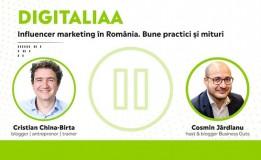 21.04 Discuție: Influencer marketing în România. Bune practici și mituri