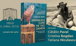 15.06 Lansare de carte: Animalele care ne fac oameni