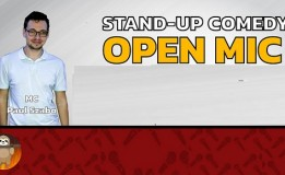 15.06 Stand-up Comedy: Open Mic